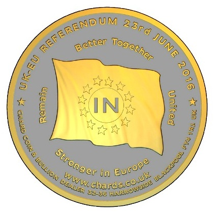 BREXIT coin pairSMALL