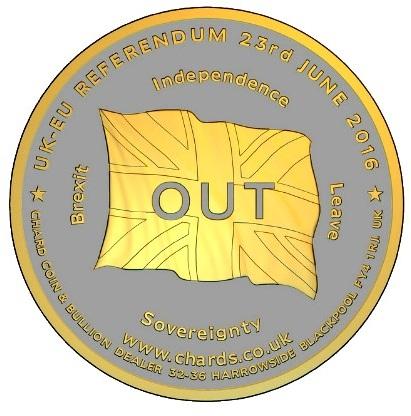BREXIT coin pairSMALLb