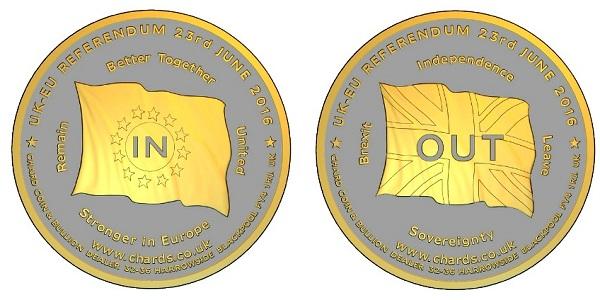 BREXIT coin pairSMALLboth