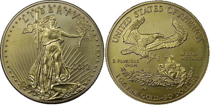 Front 2012 fake 1 oz American gBOTH