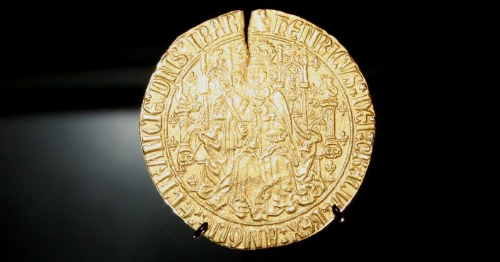 Henry VII's gold sovereignSMALLBM