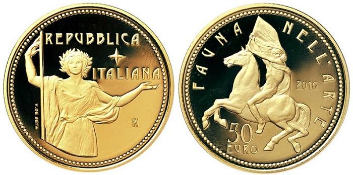 ITALY 2016 €50 aBOTH