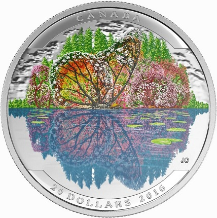 canada 2016 $20 illusions butterfly bSMALLbig