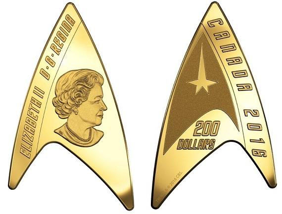 canada 2016 star trek $200 aBOTH