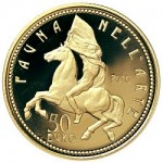 """Italy Releases Final Gold Coins in Popular """"Flora and Fauna"""" Series"""