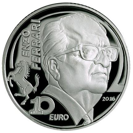 italy 2016 €10 europa ferrari aSMALL