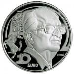 Automobile Designer Enzo Ferrari Featured on Italy's latest EUROPA Star Silver Coin
