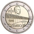 luxemburg 2016 €2 charlotte bridge aTINy