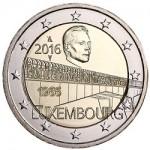 Luxembourg's New €2 Coin Celebrates Anniversary of Grand Duchess Charlotte Bridge