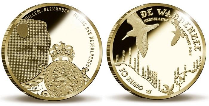 netherlands 2016 10€ waddBOTH