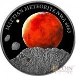The 2016 Martian Meteorite High Relief 1 oz. Silver Coin