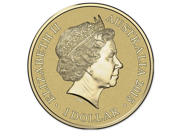 310640_M_Obverse of the 2015 One Dollar Coloured Frosted Uncirculated Coin Unlikely SMALL