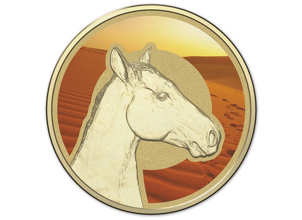 310643_M_Reverse of the 2015 One Dollar Coloured Frosted Uncirculated Coin UnliSMALL