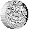 "Perth Mint Issues 2016 ""Dragon and His Nine Sons"" 5 oz. High Relief Silver Proof Coin"