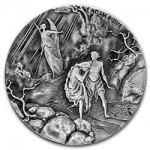 Third 2016 Coin in Biblical Series Features Adam and Eve