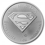 Superman Logo Features on New Canadian Silver Bullion Coin