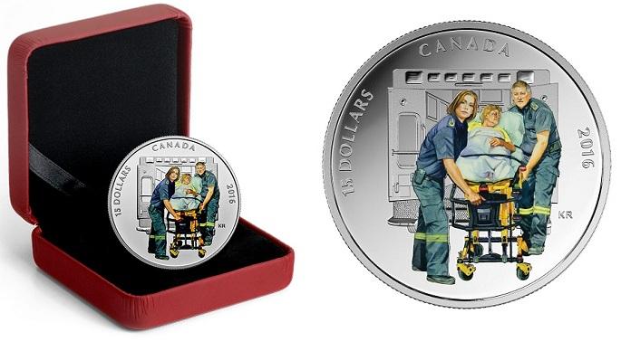 Canada 2016 $15 paramedics heroesBOTH