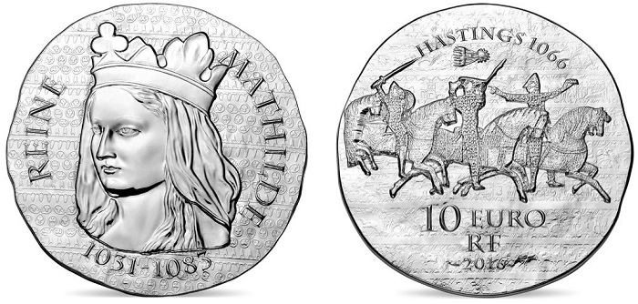 France 2016 Matilda €10 silver pairBOTH