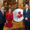 Canada Unveils Partnership Medallion During State Visit From Mexico's President