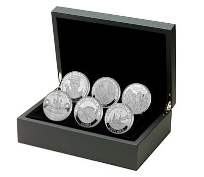 UK 2016 WWI £5 silver setSMALL