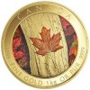 "Canada Issues One-Kilo Gold and Silver Coins With Color ""Maple Leaf Forever"" Design"