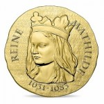 """Women of France"" Series Continues With Gold and Silver Coins Featuring Queen Matilda"