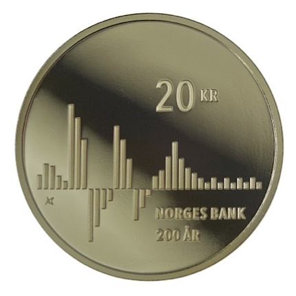 norway 2016 20 kr. bank anniversaryREVsmall