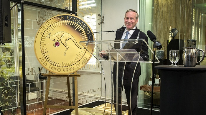 1. The Premier of Western Australia, the Honourable Colin Barnett MLA SMALL