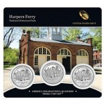 New at the Mint:  2016 Harpers Ferry National Historical Park Quarter 3-Coin Set