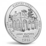 Now Available: 2016 Harpers Ferry 5 oz. Silver Uncirculated Coin