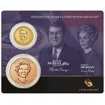 2016 Ronald Reagan $1 Coin and First Spouse Medal Set Opens Near 6,000 Sales