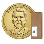 New at the Mint: 2016 Ronald Reagan Presidential $1 Coin Rolls, Bags, and Boxes