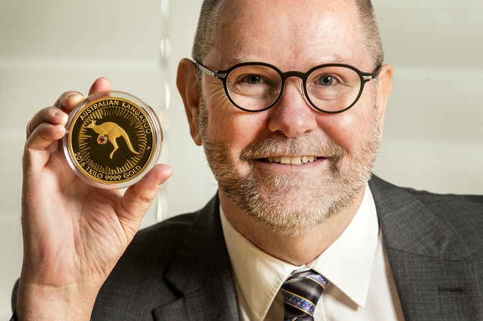 3. Perth Mint Chief Executive Officer, Richard Hayes with thSMALL
