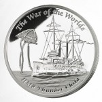 "The Perth Mint's ""Famous Ships that Never Sailed – HMS Thunder Child"" Silver Proof Coin"