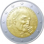 France Marks Centennial Anniversary of Mitterand's Birth on Latest €2 Coin