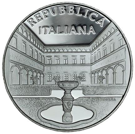 Italy 2016 €5 VILLA CICOGNA MOZZONI aSMALL