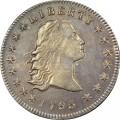Obverse 1795 dual plugged dollarTIUYN