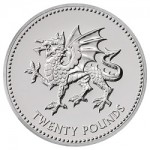 Welsh Dragon Features on UK's Latest £20 Silver Face-Value Coin