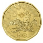 """Canada's """"Lucky Loonie"""" Dollar Unveiled in Support of Rio Summer Olympics"""