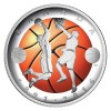 Canada Celebrates 125 Years of Basketball on World's First Convex Color Silver Coin