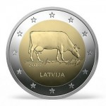 Latvia Features Familiar Design From Former Coin Series on New €2 coin