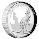 Perth Mint Releases 2016 Australian Kangaroo 1 oz. Silver High Relief Proof Coin