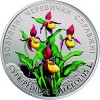 Ukraine Features Lady's Slipper Orchids on Latest Color Coin in Flora & Fauna Series