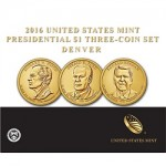 U.S. Mint Sales Report: 2016 Presidential $1 Three-Coin Set Debuts