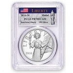PCGS Offers Special Labels for American Liberty Silver Medals