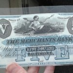 Archiving Obsolete Bank Notes in Baltimore