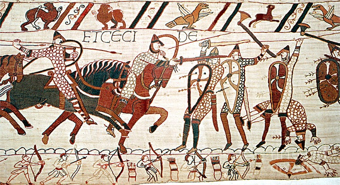 battle of hastings tapestrySMALL