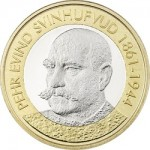 "P.E. Svinhufvud Featured on Latest Coin in ""Presidents of Finland"" Series"