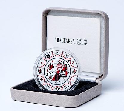latvia 2016 €5 Baltars plate cSMALL