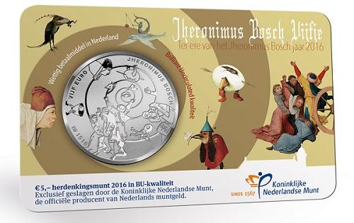 netherlands 2016 €5 bosch silver d (1)SMALL